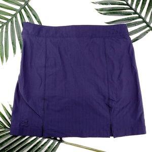 Under Armour | navy blue golf skirt/skort